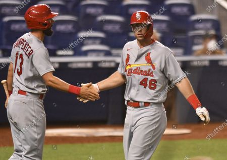 Editorial picture of Cardinals Marlins Baseball, Miami, United States - 06 Apr 2021