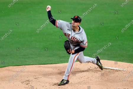 Editorial photo of Giants Padres Baseball, San Diego, United States - 06 Apr 2021