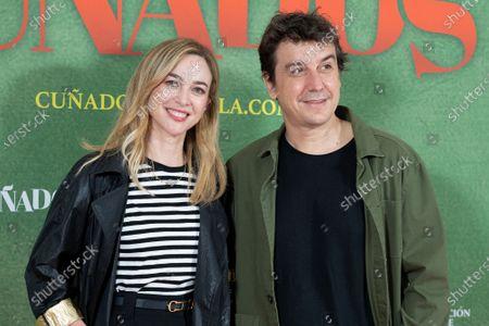 Stock Photo of Marta Hazas, Javier Veiga