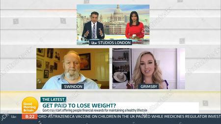 Editorial image of 'Good Morning Britain' TV Show, London, UK - 07 Apr 2021
