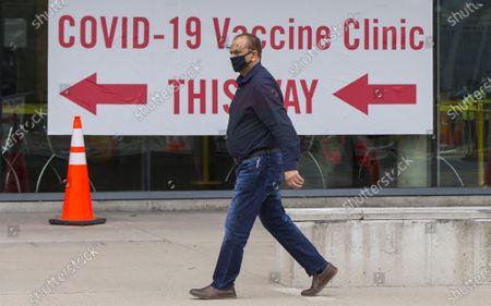 Editorial photo of Canada Ontario Covid 19 Vaccination Widening - 06 Apr 2021