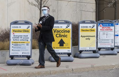 Editorial picture of Canada Ontario Covid 19 Vaccination Widening - 06 Apr 2021