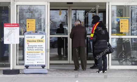 Editorial image of Canada Ontario Covid 19 Vaccination Widening - 06 Apr 2021