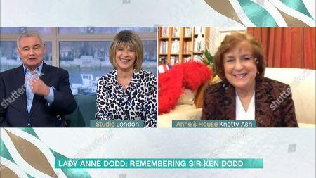 Eamonn Holmes, Ruth Langsford and Lady Anne Dodd