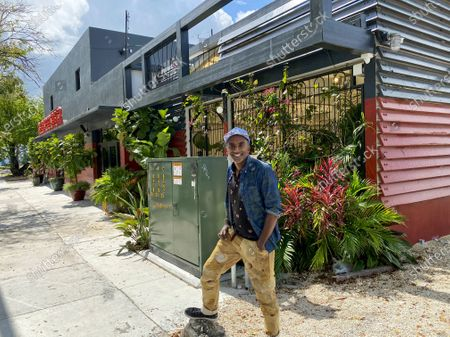 Chef Marcus Samuelsson at his new restaurant Red Rooster Overtown