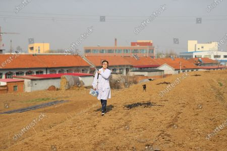 Editorial photo of China Liaoning Donggang Young Village Doctor - 06 Apr 2021
