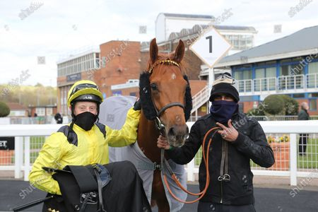 Editorial image of Horse Racing, Nottingham - 07 Apr 2021