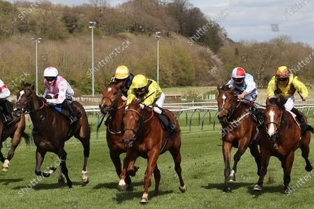 Editorial photo of Horse Racing, Nottingham - 07 Apr 2021