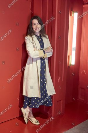 "Stock Image of Angeles Gonzalez-Sinde presents the play ""Troyanas"" at Teatro de la Comedia in Madrid"