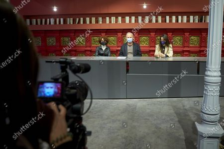 Editorial picture of 'Troyanas' play photocall, Teatro de la Comedia, Madrid, Spain - 06 Apr 2021