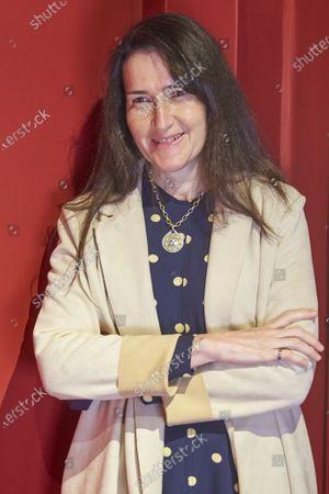 "Stock Photo of Angeles Gonzalez-Sinde presents the play ""Troyanas"" at Teatro de la Comedia in Madrid"