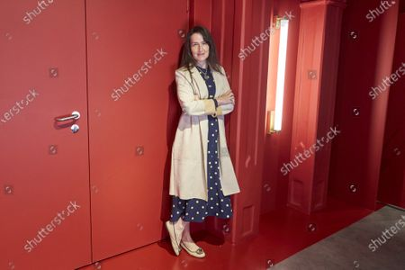 """Stock Picture of Angeles Gonzalez-Sinde presents the play """"Troyanas"""" at Teatro de la Comedia in Madrid"""