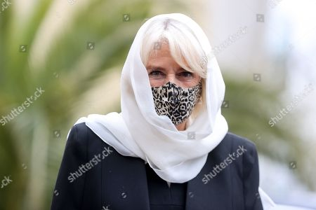 Camilla Duchess Of Cornwall visit to Wightman Road Mosque, London