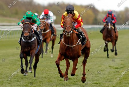SIR RON PRIESTLEY (Franny Norton) wins The Mansionbet Barry Hill Further Flight Stakes Nottingham
