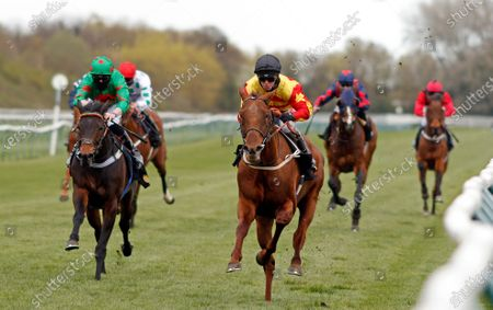 Editorial photo of Horse Racing - 07 Apr 2021