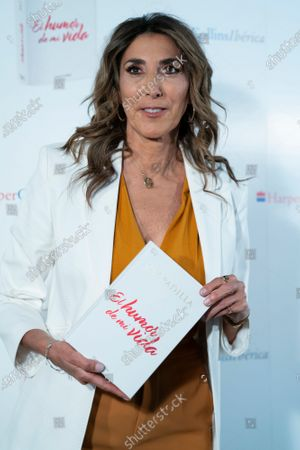 "Paz Padilla seen during the book presentation of ""Humor de mi vida"" in Madrid."