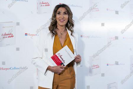 Paz Padilla during the presentation of book Humor de mi vida in Madrid, Spain, on April 7, 2021.