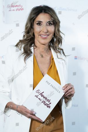 Editorial picture of 'Humor de mi vida' Book launch, Madrid, Spain - 07 Apr 2021