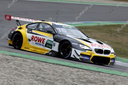 Timo Glock (GER) (ROWE Racing - BMW M6 GT3) on the first DTM test rides with GT3 vehicles on the Hockenheimring.