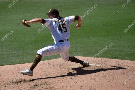 Editorial photo of Giants Padres Baseball, San Diego, United States - 07 Apr 2021