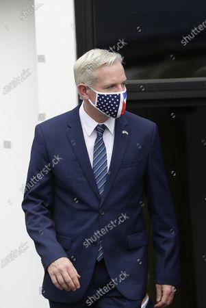 Editorial photo of USA backs OAS anti-corruption commission in El Salvador, San Salvador - 07 Apr 2021