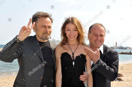 Franco Nero, Eleonora Abbagnato and Pascal Vicedomini
