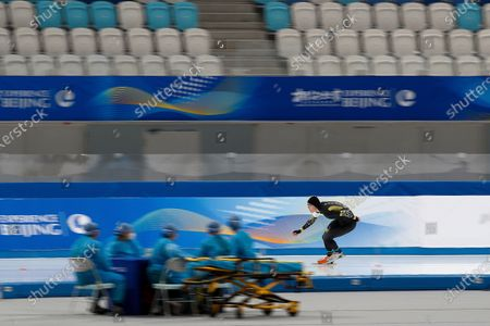 Editorial image of Winter Olympics Test Events, Beijing, China - 08 Apr 2021