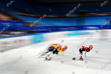 Editorial photo of Winter Olympics Test Events, Beijing, China - 08 Apr 2021