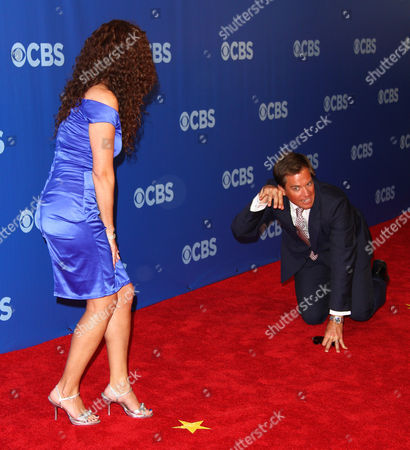 Stock Image of Jerri Manthey, Michael Weatherly