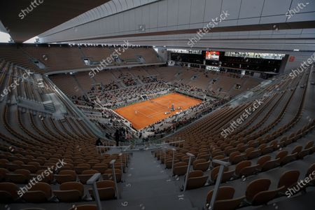 Editorial photo of Tennis French Open Delay, Paris, France - 11 Oct 2020