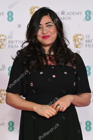 Editorial image of Exclusive - 74th British Academy Film Awards, Opening Night, Arrivals, Royal Albert Hall, London, UK - 10 Apr 2021