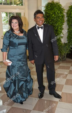 George Lopez and wife Ann Lopez