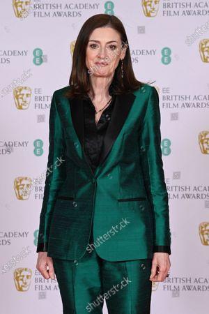 Editorial photo of 74th British Academy Film Awards, Arrivals, Royal Albert Hall, London, UK - 11 Apr 2021