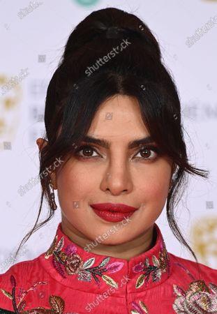 Stock Image of Priyanka Chopra Jonas