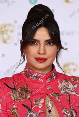Editorial picture of 74th British Academy Film Awards, Arrivals, Royal Albert Hall, London, UK - 11 Apr 2021
