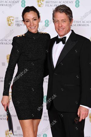 Stock Photo of Hugh Grant and Anna Elisabet Eberstein