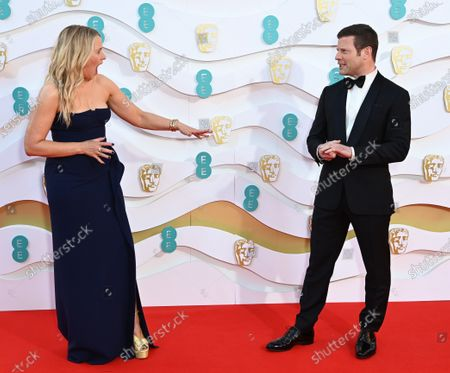 Stock Photo of Edith Bowman and Dermot O'Leary