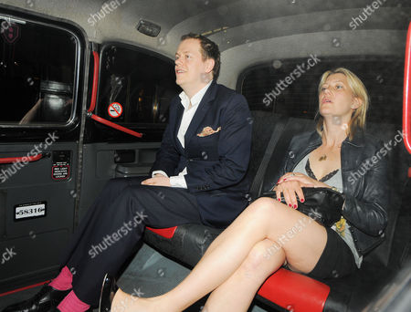 Stock Picture of Tom Parker Bowles and Sara G Buys