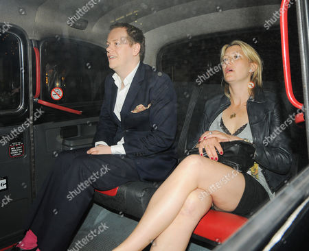Stock Image of Tom Parker Bowles and Sara G Buys
