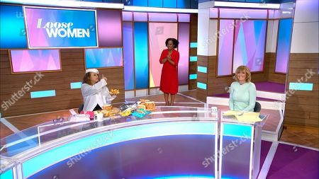 Editorial picture of 'Loose Women' TV Show, London, UK - 08 Apr 2021