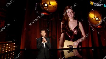 Dermot O'Leary and Anna Kendrick