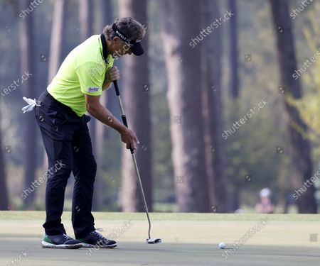 Editorial picture of The 2021 Masters Tournament golf, Augusta, USA - 08 Apr 2021