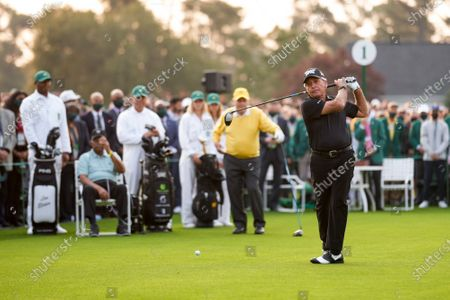 Editorial picture of Round 1 of the Masters Tournament, Augusta, Georgia, USA - 08 Apr 2021