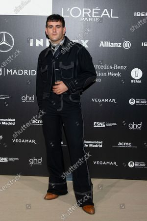 Spanish designer Alejandro Gomez Palomo