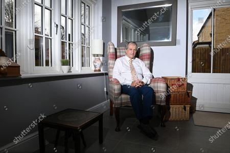 Editorial picture of Bob Champion photoshoot, London, UK - 08 Apr 2021