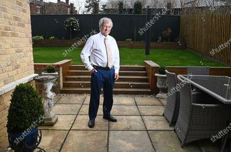 Editorial image of Bob Champion photoshoot, London, UK - 08 Apr 2021