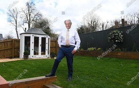 Stock Picture of Bob Champion interview with Marcus Townend