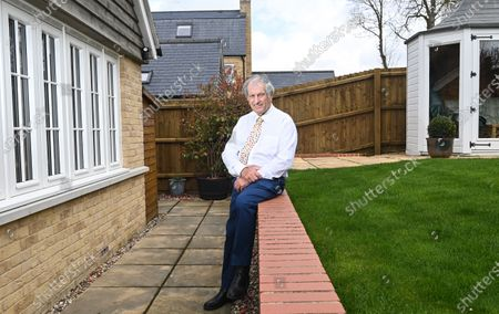 Stock Photo of Bob Champion interview with Marcus Townend