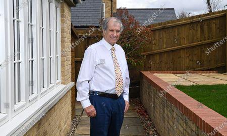 Editorial photo of Bob Champion photoshoot, London, UK - 08 Apr 2021