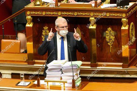 Stock Image of Olivier Falorni.